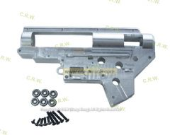 SHS 7075 CNC Aluminum 9mm Ver.2 gear box with 6 bearings